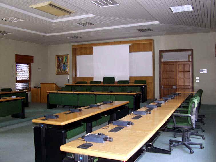 aula consigliare del Comune sanpietrano