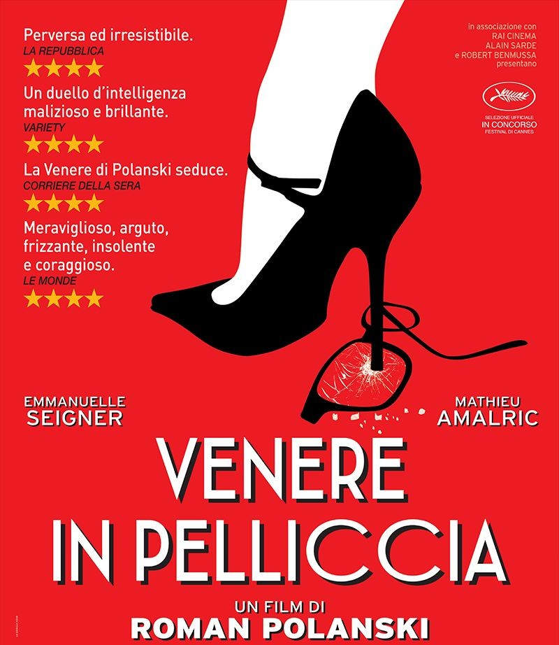 """Venere in pelliccia"" - locandina"